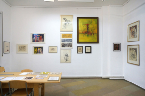 exhibition view Gisa Hausmann