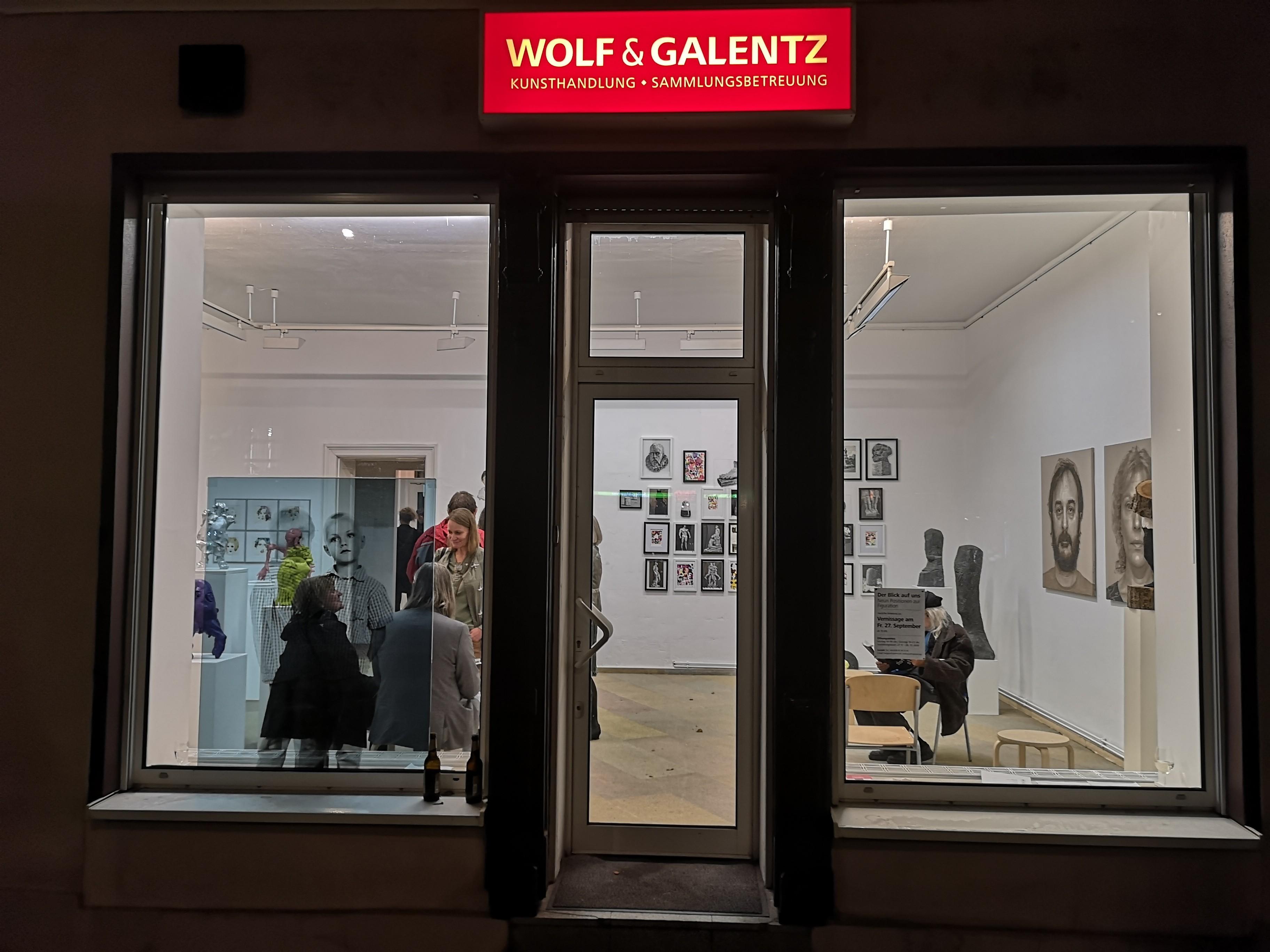 Wolf & Galentz Blick auf die Galerie