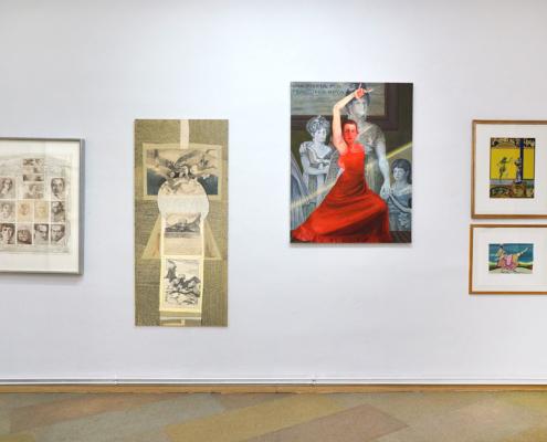 Gisa Hausmann Ausstellungsansicht