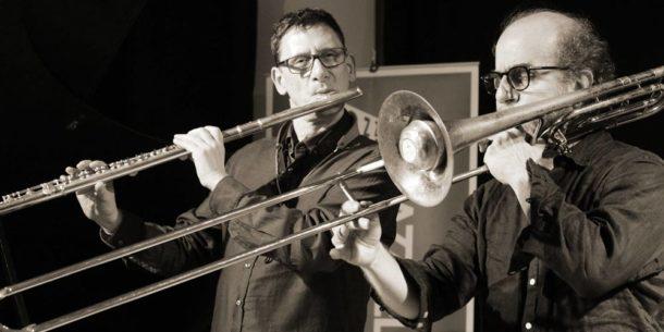 Frank Gratkowski (l), Sebi Tramontana (r), Photo: Christina Marx