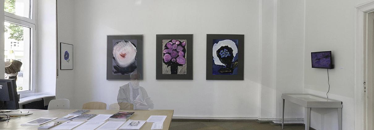 Blumen Ausstellungsansicht back
