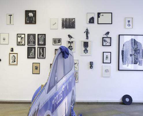 Ausstellungsansicht Henrik Jacob